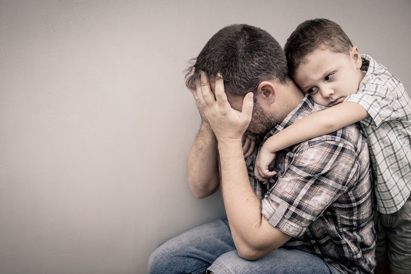 Yes, Fathers Can Have Post-Partum Depression Too